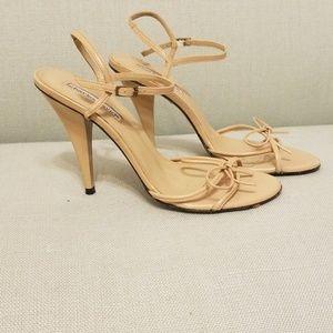 Charles David tan/nude heels